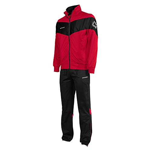 Stanno Fiero Poly Anzug - Red-Black, Größe #:XL