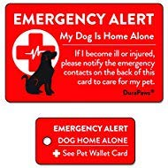 My Dog is Home Alone Emergency Alert