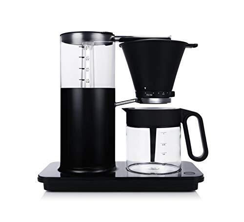 Wilfa CLASSIC PLUS Filterkaffeemaschine - Kaffeemaschine aus Stahl, mit 1 Liter Füllmenge und manueller Tropfstopp-Funktion, schwarz
