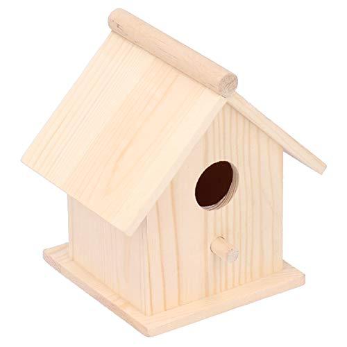 Nids d'oiseaux texture douce jardin maison d'oiseau de haute qualité Cage à oiseaux résistance à l'humidité Durable suspendu oiseau maison décor ornement