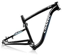 Rugged-Certified Changebike Folding Frame for MTB and Gravel Bike Usage