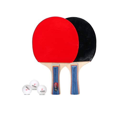 Check Out This LFLLFLLFL Table Tennis Racket Set, Daily Training Home Leisure Sport Gifts