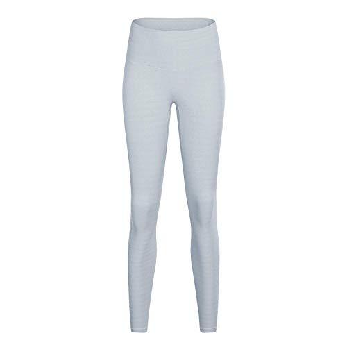 Energy Seamless Workout Leggings Frauen Elastic Slim Bodybuilding Legging Weiblich Quick Dry Fitness Push Up Leggins L Grau