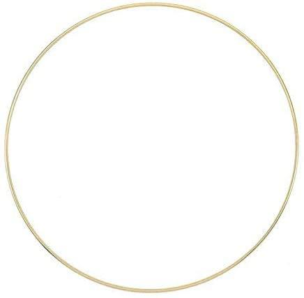 Haucy Aros de metal de 25 cm/30 cm/40 cm/50 cm, anillos de...
