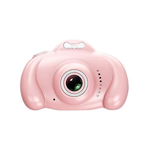 2 hd scherm kinderen digitale camera 1080P dual lens kinderen camera 16Mp slr videocamera beste cadeaus voor kinderen kinderen (roze)