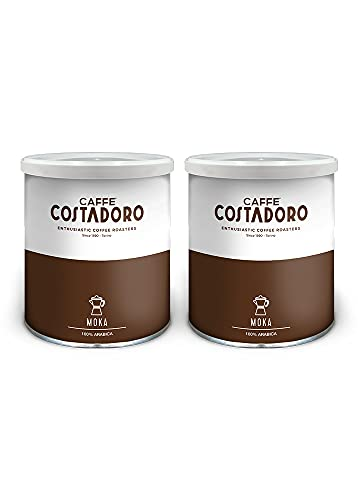 Caffè Costadoro Arabica Moka Kaffee 2 Dosen, 500 g