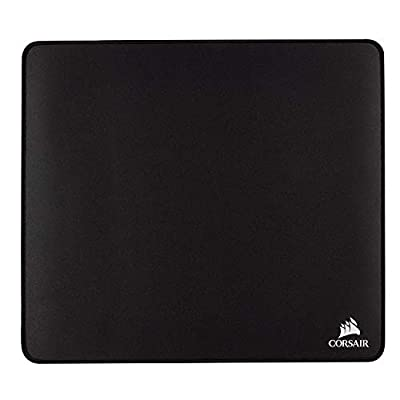 Corsair MM350 Champion Series, X-Large Premium Anti-Fray Cloth Performance Gaming Mouse Mat, Black