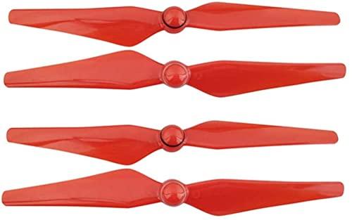 Parti di ricambio per eliche per drone 4 pezzi 9450S Eliche a lama CC/CW Eliche con base di montaggio compatibile con Phantom 4/ compatibile con Phantom 4 pro/4 pro plus ( Color : Red )