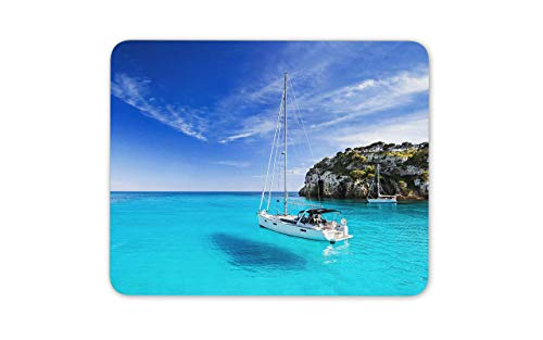 Menorca Spanish Island Alfombrilla para ratón - Hermosa Naturaleza Regalo de computadora # 14919