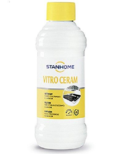 Stanhome Vitro Ceram, detergente per piastre di in vetroceramica e a induzione. 250 ml