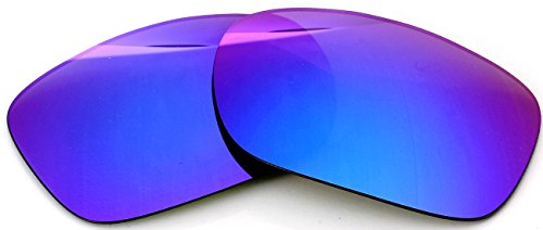 Polarized IKON Replacement Lenses For Oakley Twoface XL (OO9350) Sunglasses - Violet