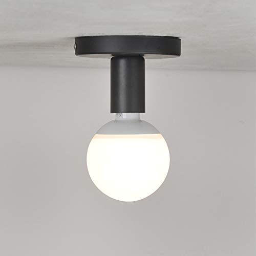 Chao Zan E27 Lámpara de techo industrial Lámpara colgante de metal vintage, luces colgantes y luces de techo modernas, para entrada, sala de estar, pasillo, bar, cocina, balcón, almacén, comedor