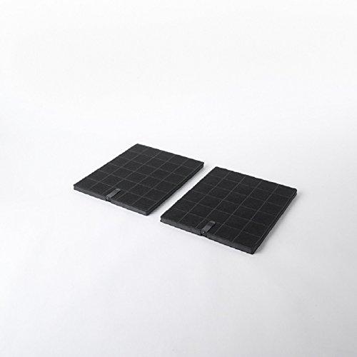 Fac FC67-2 pièces - filtre à charbon actif pour hotte Elica Etoile CFC0100245 CFC0142328