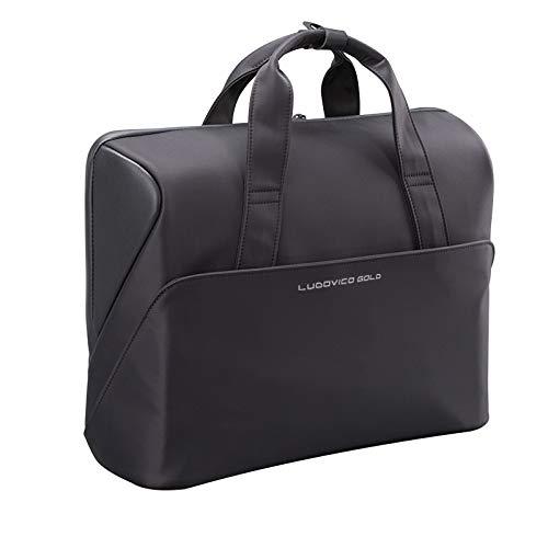 Ludovico GOLD Borsa porta PC 15.6 pollici compatta portatile impermeabile, valigetta computer laptop macbook ASUS Apple