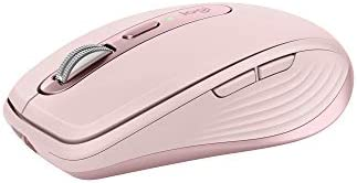 Logitech MX Anywhere 3 Compact Performance Mouse, Wireless, Comfort, Fast Scrolling, Any Surface, Portable, 4000DPI,...