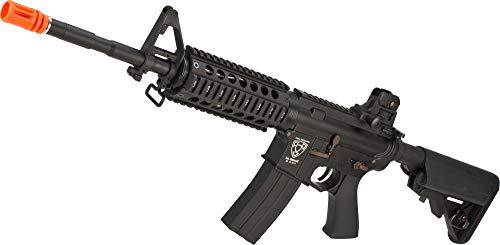 Evike APS Full Metal M4 CQB Electric Blowback Airsoft AEG Rifle w/Crane Stock (Newest Version)