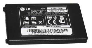 LG Xenon GR500 New Standard OEM Battery LGIP-340N by LG
