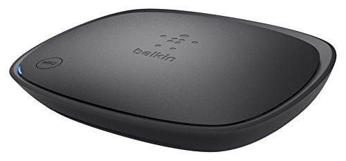 Belkin F9K1002as Surf N300 Router (300 Mbit/s, 4 Gigabit Ethernet Ports), schwarz