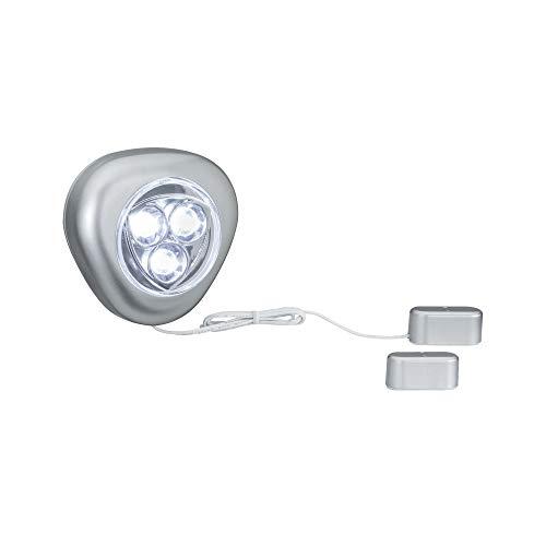 Paulmann 705.00 Function TriLED Schrankleuchte mit Magnetkontakt 3x1,5AAA 70500 Schrankbeleuchtung Lichtleiste Küchenschrankleuchte