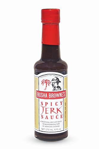 Busha Browne's Spicy Jerk Sauce, 5 Ounce