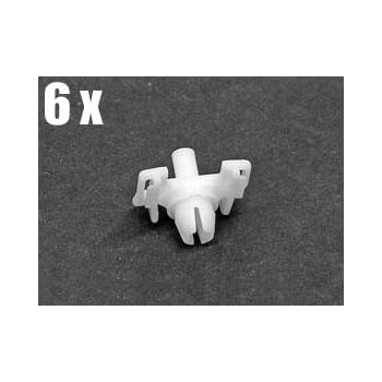 OEM retainer fastener x12 clips BMW e28 e30 Moulding Clip for Roof Mouldings