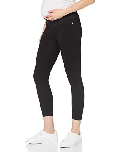 ESPRIT Maternity Damen Legging UTB 7/8 Umstandsleggings, Schwarz (Black 001), 42 (Herstellergröße: XL/XX-Large)