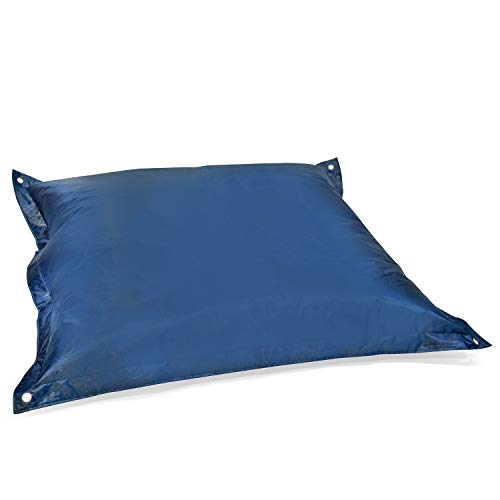 pushbag Kindersitzsack, 100% Polyester, Marine, 170 x 140 cm