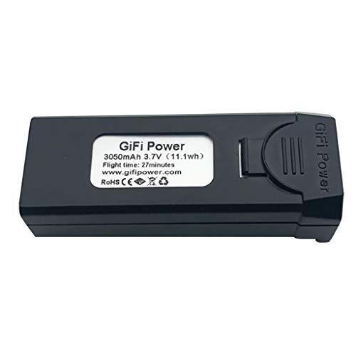 Marxways_ Gifi Power - Batería de polímero de litio para dron VISUO XS809S, XS812, XS809HW RC Gifi Power (3,7 V, 3050 mAh, 3050 mAh, para VISUO XS809S, XS812, XS809HW)