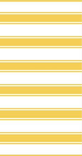 Tommy Hilfiger Cabana Strandtuch, 91,4 x 177,3 cm, Gelb