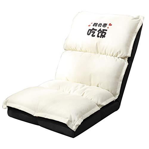 Canapés et divans Canapé-lit Pliant Canapé-lit Pliant Fauteuil-canapé avec Balcon Transat Simple Baie Vitrée Chaise D'ordinateur pour Dortoir pour Étudiants 120 Kg Supportant