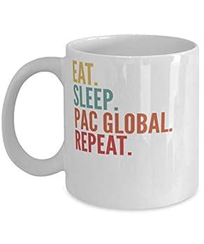 Pac Global Crypto Eat Sleep Pac Global Repeat Mug 11oz white