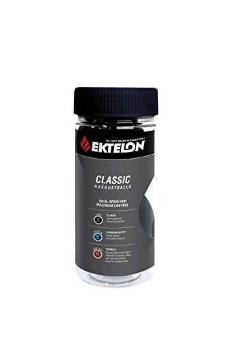 Ektelon Classic 3 Ball Racquetball Can