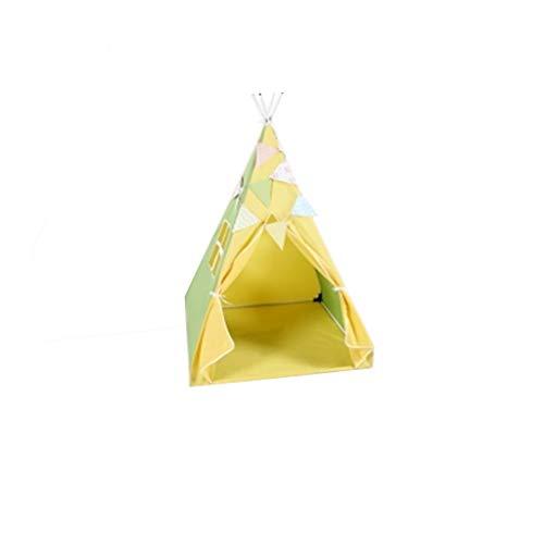 CSQ Wasserdicht Kinderzelt, Junge Vierecke Zelt Girls' Spiel-Zelt/Bottom Größe: 100 * 100 cm/for Innen/Außen Spielhaus für Kinder (Color : C, Size : 100 * 160cm)