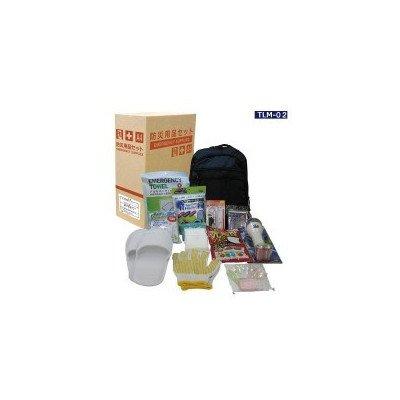 防災用品 女性向け 帰宅支援セット A4ファイルサイズパッケージ TLM-02 200122