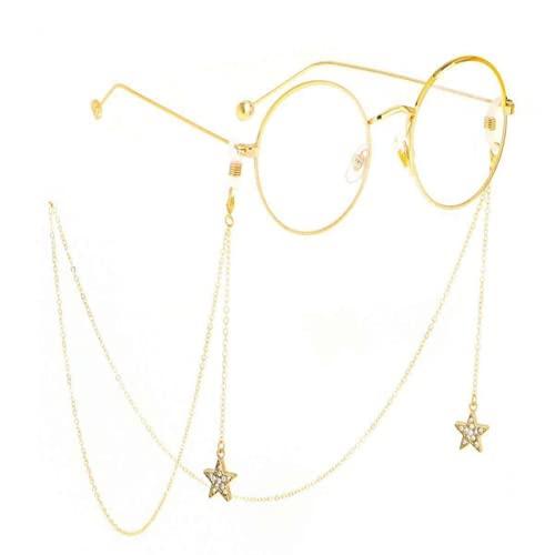 Cadenas de gafas para mujer antideslizantes con correa para gafas de sol de lectura, retenedor hecho a mano alrededor del cuello, joyería de regalo para Navidad, cumpleaños, cadena de moda