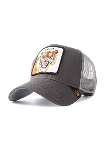 Goorin Bros. Trucker Cap Eye of The Tiger Grau, Size:ONE Size
