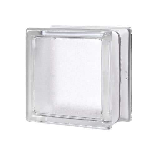 VITROLAND 604974 Bloque de Vidrio, Transparente