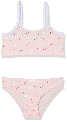Zippy ZIPPY Mädchen Rose Unterwäsche-Set, Pink (Light Pink 000), 5 Jahre (Herstellergröße: 4/5)