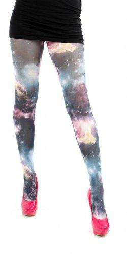 Pamela Mann dames panty Galactic Sky meerkleurig