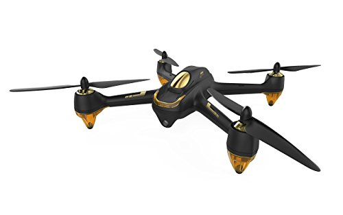 Hubsan H501S X4 4 Channel GPS Altitude Mode 5.8GHz Transmitter 6 Axis Gyro 1080P FPV Brushless Quadcopter Mode 2 RTF ( Black)