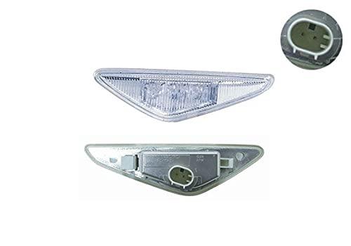 Depo 3001849 Gauche, feu lateral, avec porte-lampe, led, blanc