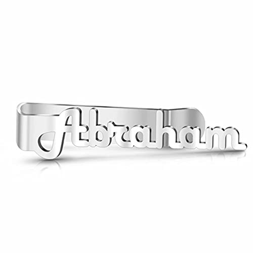 RuHan Clip de Corbata Personalizado Personalizado Grabado Pasador de Barra de Corbata Deslizante de Acero Inoxidable para Conjunto de Negocios Clip de Corbata Clips de Barra de Corbata Camisas Caja