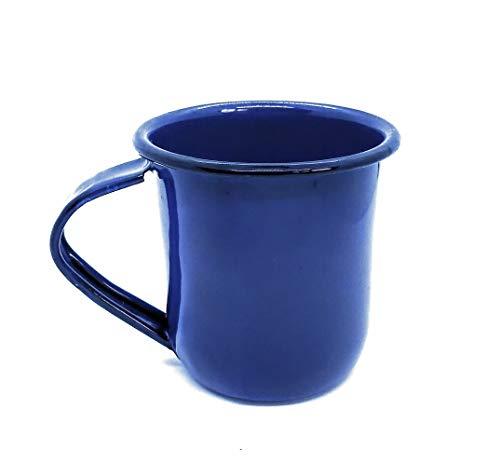 Cobalt Blue Enamel Coffee Mug