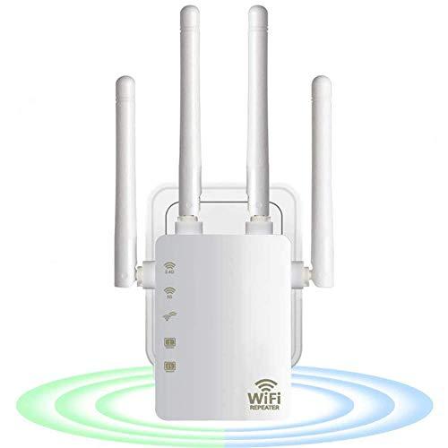 MELODY Repetidor WiFi 1200mbps De Doble Banda 2.4/5g 4antenna Alcance De Alcance Extensor De Señal De Red Doméstica Suministros De Red, Trabajar con Cualquier Router