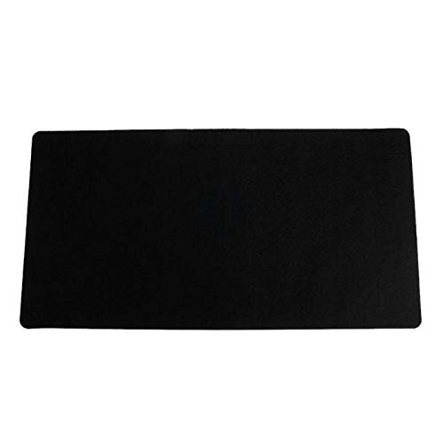 Z-Y Wegwerp overschoenen Plastic 630 * 330 * 3mm Table Mat Simple Warm Office Table Computer Mouse Pad Desk Toetsenbord Game Mouse Mat XL Grote Gaming Pads Black #z