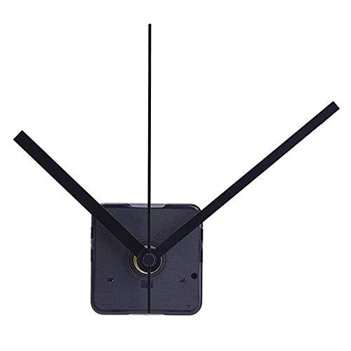 ULTNICE Uhrwerk Lautloses Uhr Zubehör für DIY (Schwarz)