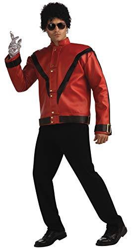 Michael Jackson Deluxe Thriller Jacket, Red, Medium Costume