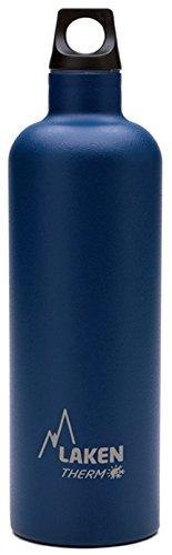 Laken Futura Botella Térmica Acero Inoxidable 18/8 y Doble Pared de Vacío, Unisex adulto, Azul, 750 ml