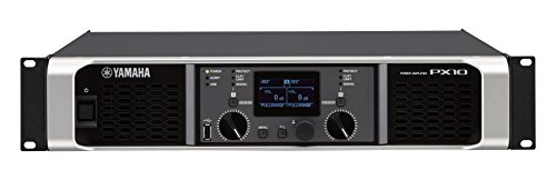 Read About Yamaha PX10 Dual Channel 2x1200W Lightweight Power Amplifier w/ DSP