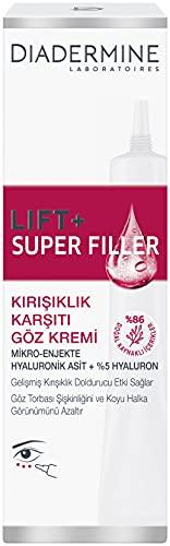 DIADERMINE LIFT+ Augenpflege SUPER FILLER Augencreme Faltenfüllende Anti-Age Pflege, 1er Pack (1 x 15 ml)